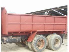 TANDEM STEEL 10M3 TIPPING BODY - picture1' - Click to enlarge