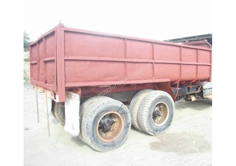 TANDEM STEEL 10M3 TIPPING BODY