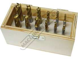 M333 Metric HSS Slot Drill & End Mill Set - 12 Piece Ø4 -Ø12mm - picture0' - Click to enlarge