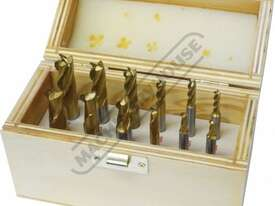 M333 Metric HSS Slot Drill & End Mill Set - 12 Piece Ø4 -Ø12mm - picture2' - Click to enlarge