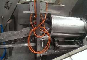 Small Coating/Flavouring Drum with vibratory feeder etc