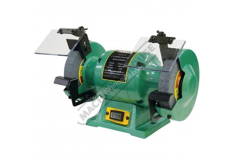 X6 Industrial Bench Grinder Ø150mm Fine & Coarse Wheels 0.37kW - 0.5HP Motor Power