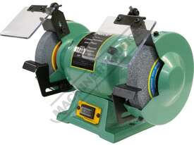 X6 Industrial Bench Grinder Ø150mm Fine & Coarse Wheels 0.37kW - 0.5HP Motor Power - picture2' - Click to enlarge