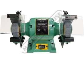 X6 Industrial Bench Grinder Ø150mm Fine & Coarse Wheels 0.37kW - 0.5HP Motor Power - picture4' - Click to enlarge