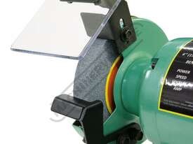 X6 Industrial Bench Grinder Ø150mm Fine & Coarse Wheels 0.37kW - 0.5HP Motor Power - picture6' - Click to enlarge