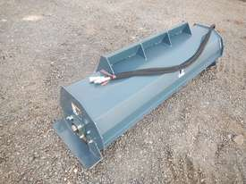 Unused 1800mm Hydraulic Rotary Tiller to suit Skidsteer Loader - 10419-12 - picture0' - Click to enlarge
