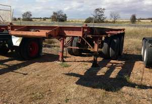 Custom Made Custom Semi Skel Trailer