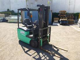 2016 Mitsubishi FB16-TCB Container Mast Electric Forklift - picture0' - Click to enlarge