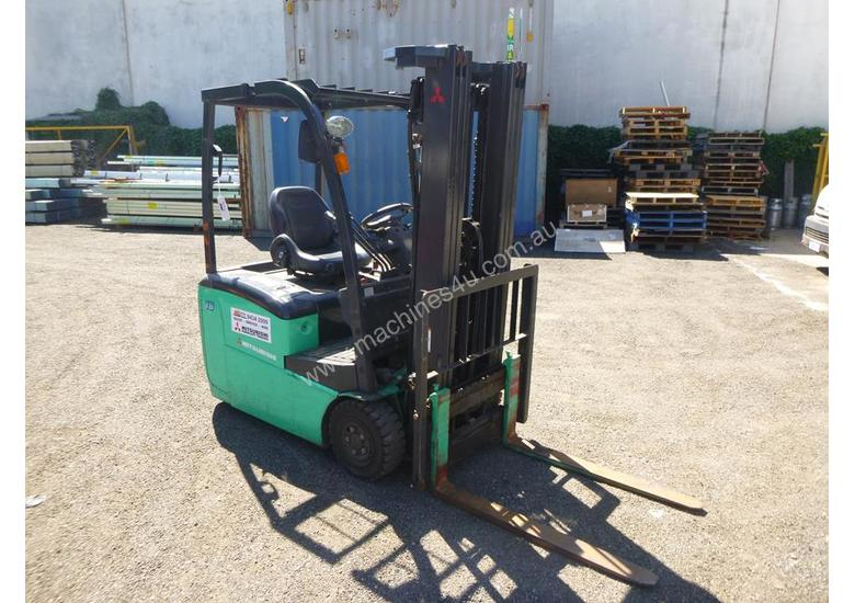 2016 Mitsubishi FB16-TCB Container Mast Electric Forklift