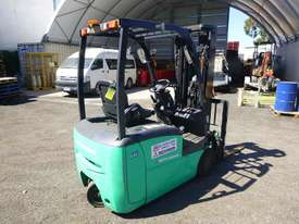2016 Mitsubishi FB16-TCB Container Mast Electric Forklift - picture2' - Click to enlarge