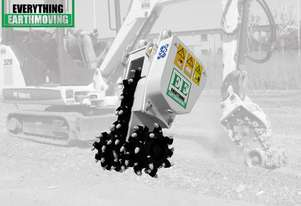 EE-DC1 Rock Grinder to suit excavators 1.2 to 2.5 tonnes