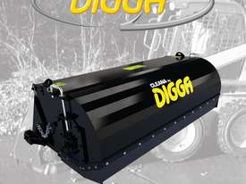 Digga Cleana 1600mm Bucket Broom Standard Flow 100% Poly Brush - picture0' - Click to enlarge