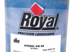 20ltrs of Royal Precision Lubricants 68 hydraulic oil