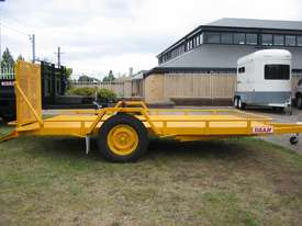 No.17HD Heavy Duty Single Axle Tilt Bed Plant Transport Trailer - picture0' - Click to enlarge