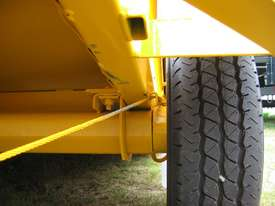 No.17HD Heavy Duty Single Axle Tilt Bed Plant Transport Trailer - picture2' - Click to enlarge