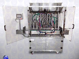Flamingo 6 Head Piston Filler 50-500ml (EFPF-A6-500) - picture0' - Click to enlarge