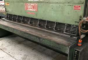 Used Hydracut 3000mm 3mm Guillotine