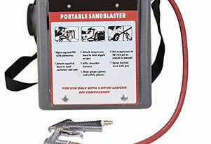 PORTABLE MINI AIR SANDBLASTER 9 LITRE