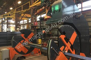 Robotic Welding for Structural Sections - Every Piece can be different