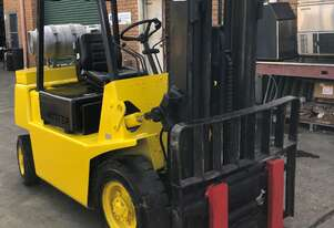2.5 ton Container Mast Low Hours Mazda Forklift Under $6K
