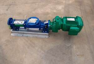 Helical Rotor Pump, IN/OUT: 50mm Dia