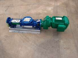Helical Rotor Pump, IN/OUT: 50mm Dia - picture0' - Click to enlarge