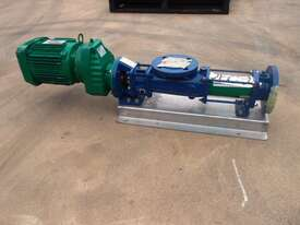 Helical Rotor Pump, IN/OUT: 50mm Dia - picture1' - Click to enlarge