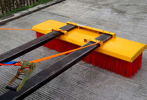 Forklift Broom 2400mm 8 x Bristle Rows