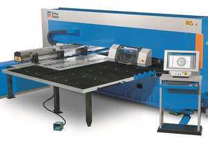 Prima Power Turret Punch - High Speed Low Running Costs with servo-electric punching