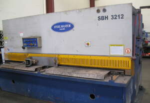 Steelmaster 3200mm x 12mm Hydraulic Guillotine