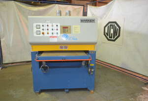 Barker   twin wide belt sander