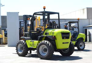 Rough Terrain Forklift TH-120-350 All Wheel Drive