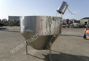 Stainless Steel Jacketed Mixing Capacity 2,000Lt.