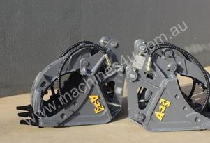 5 Finger Hydraulic Grapple
