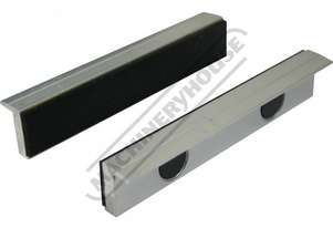 V0536 Aluminium Magnetic Soft Jaws Rubber Face 150mm