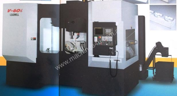 LEADWELL V60i VERTICAL MACHINING CENTRE