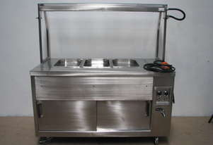 Commercial Stainless Steel Bain Marie - 3 Module