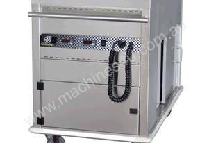 Culinaire CH.CBMH4.M Mobile Bain Marie with Hot Cupboard - 4 Module
