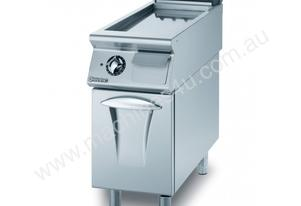 Mareno ANFT9-4GR Fry-Top With Ribbed Fry Plate