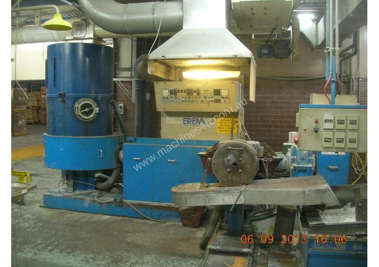 EXTRUDING MACHINES (PLASTICS SINGLE SCREW)