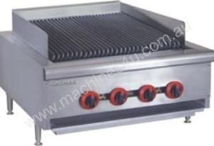 NEW GASMAX COMMERCIAL 4 BURNER LPG CHAR GRILL WITH