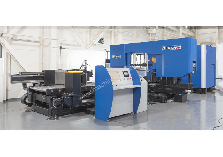 DAITO CUD3C-1050 CNC Beam Drilling Sawing Line *The World's Best Beam Line*