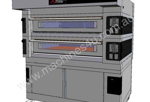 Moretti COMP S125E/2/L Double Deck Electric Deck Oven with Prover