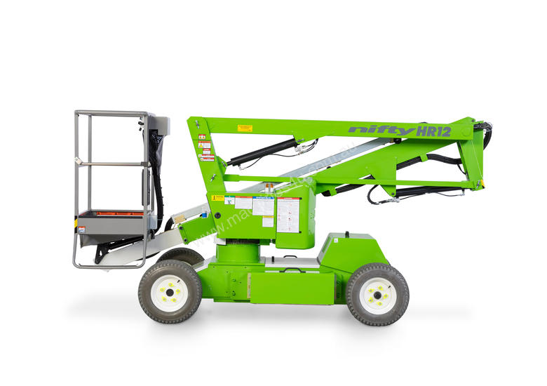 Nifty HR12N 12.2m Self Propelled - narrow chassis for working inside and out