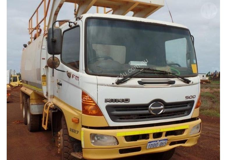 Used Hino Tanker Trucks for sale - 2009 Hino FM2627 Water Truck ...