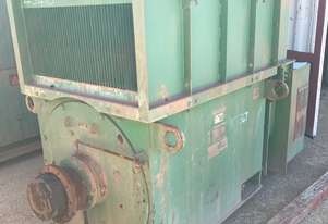 630 kw 840 hp 6 pole 3300 v AC Electric Motor