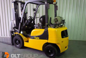 Yale Forklift Container Mast, Positioner & S/Shift