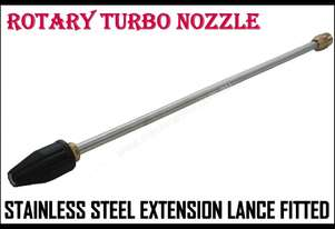 ROTARY TURBO NOZZLE, Brass Head, 595mm Lance, 5.5