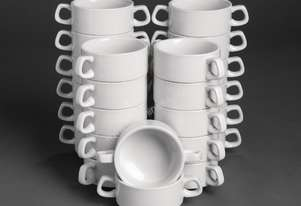 Special Offer Athena Hotelware Stacking Soup Bowls
