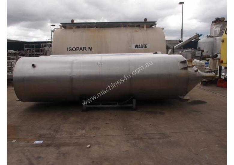Powder Hopper Stainless Steel Capacity 5Cu Mtr.
